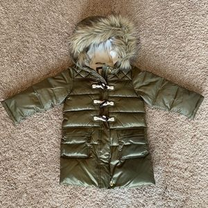 Baby Gap Green Puffer Jacket